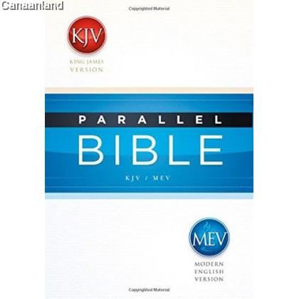 Parallel Bible - KJV/MEV, Hardcover