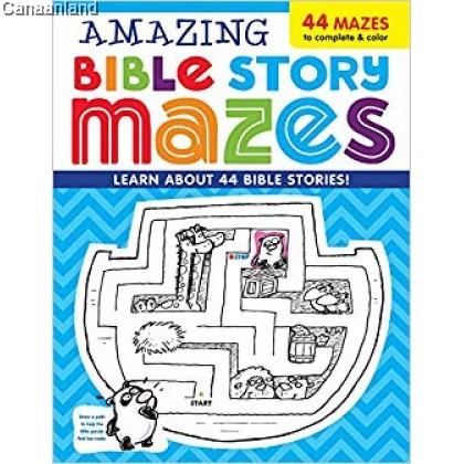 Amazing Bible Story MAZES (bk)