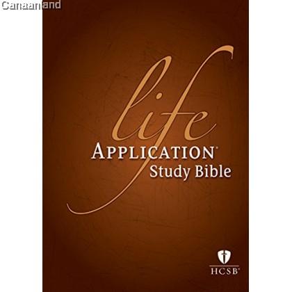 HCSB - Life Application Study Bible, HC