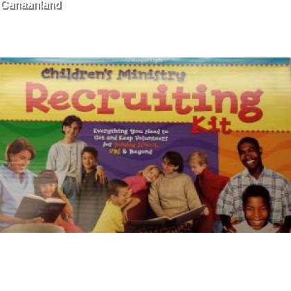 Children's Ministry Recruting Kit