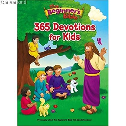 The Beginner's Bible 365 Devotions for Kids, Hardcover
