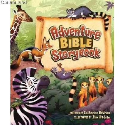 Adventure Bible Storybook, HC (bk)