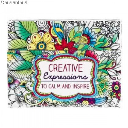 Boxed Coloring Cards - Creative Expressions