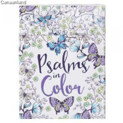 Boxed Coloring Cards - Psalms in Color