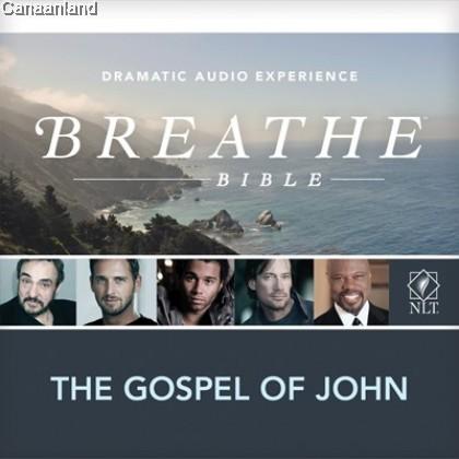 NLT Audio, Breathe Gospel of John 2CD
