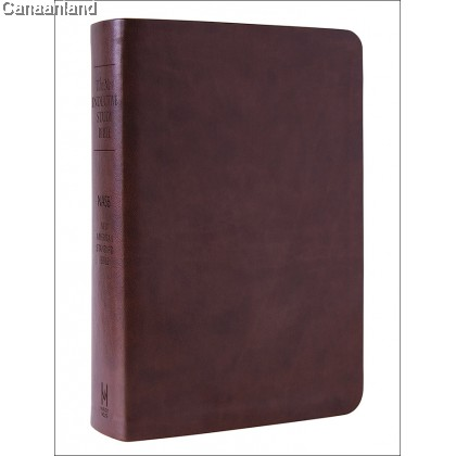 NASB - New Inductive Study Bible, Brown, Leather