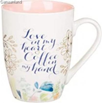 Coffee Mug - Love in My Heart Ceramic Coffee Mug