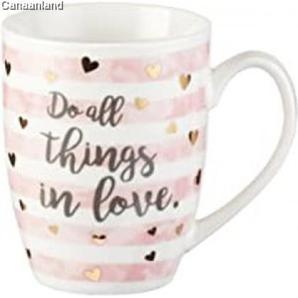 Coffee Mug - Do All Things in Love, 1 Corinthians 16:14