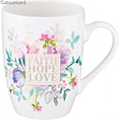 Value Coffee Mug - Faith Hope Love