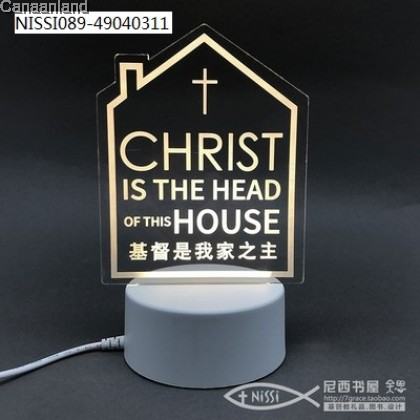 NS - Luminous Acrylic USB 3D Night Light/Bedside Lamp 夜光亚克力USB小夜灯3D卧室床头灯 (23*9.5cm)