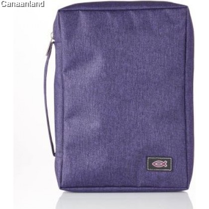 Cover - Poly-Canvas, Purple with Fish, S