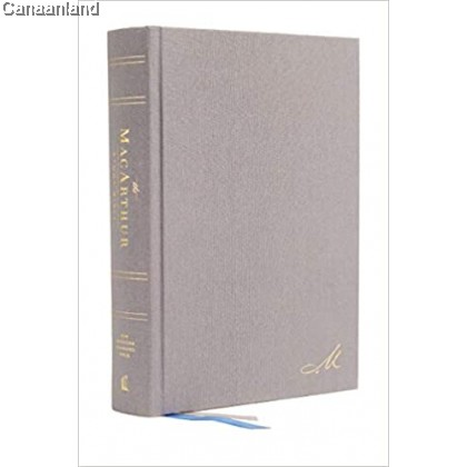 NASB - MacArthur Study Bible, 2nd Edition, Hardcover, Gray