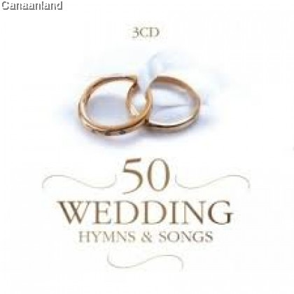 Various - 50 Wedding Hymns And Songs 3CD