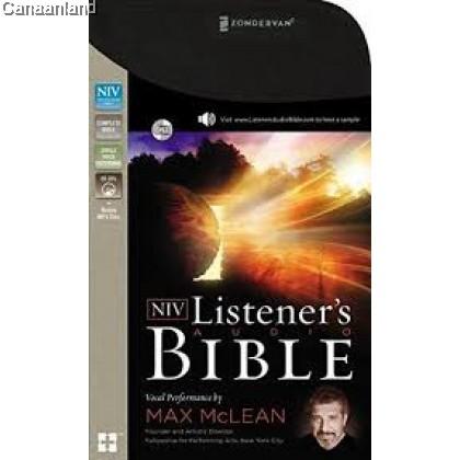 NIV - Listener's Audio Bible, Complete